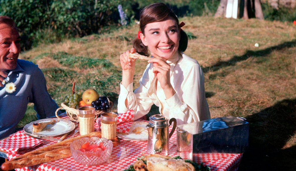 Audrey Hepburn, Love in the Afternoon, 1957