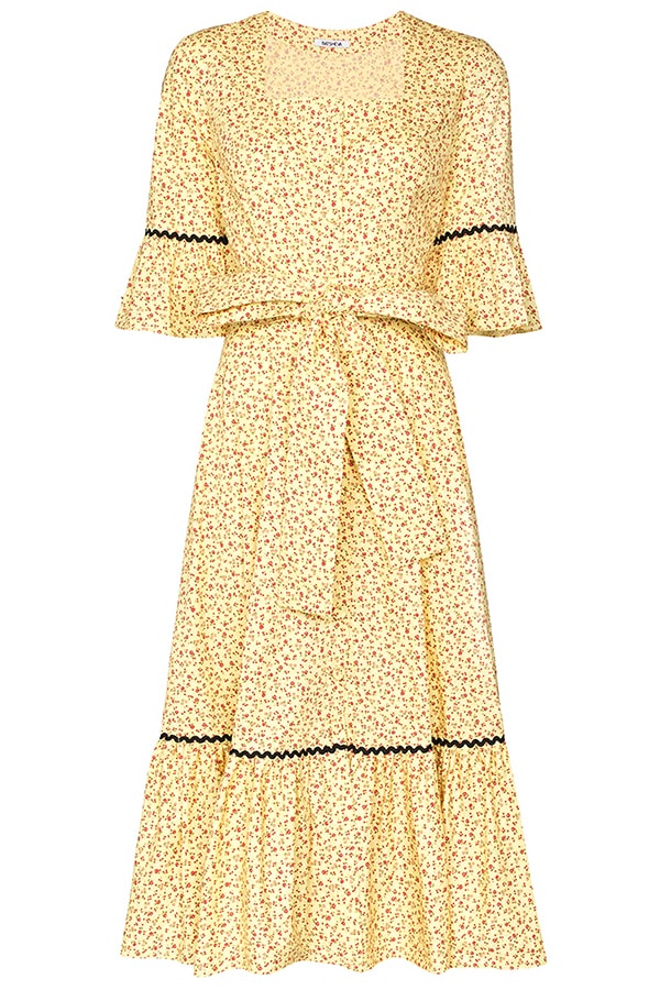 The Dress Edit: The 45 best summer dresses to buy now and wear all season BROWNS batsheva delsy floral print belted dress 14656074 23638380 1920