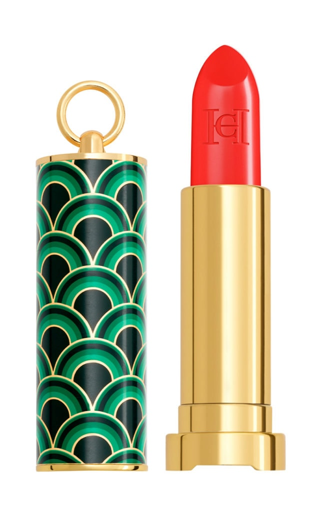 Carolina Herrera Sheer Lipstick, Ornage Affair N180