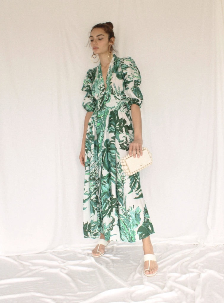 Cult Gaia green dress, as part of The Glossary's best summer dresses edit