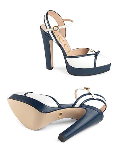 Gucci Light Leather platform sandal