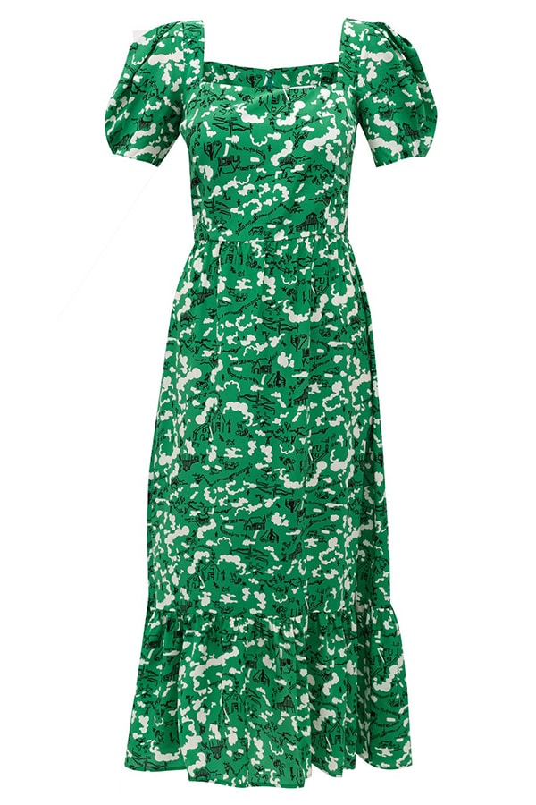 HNV green dress, as part of The Glossary's best summer dresses edit