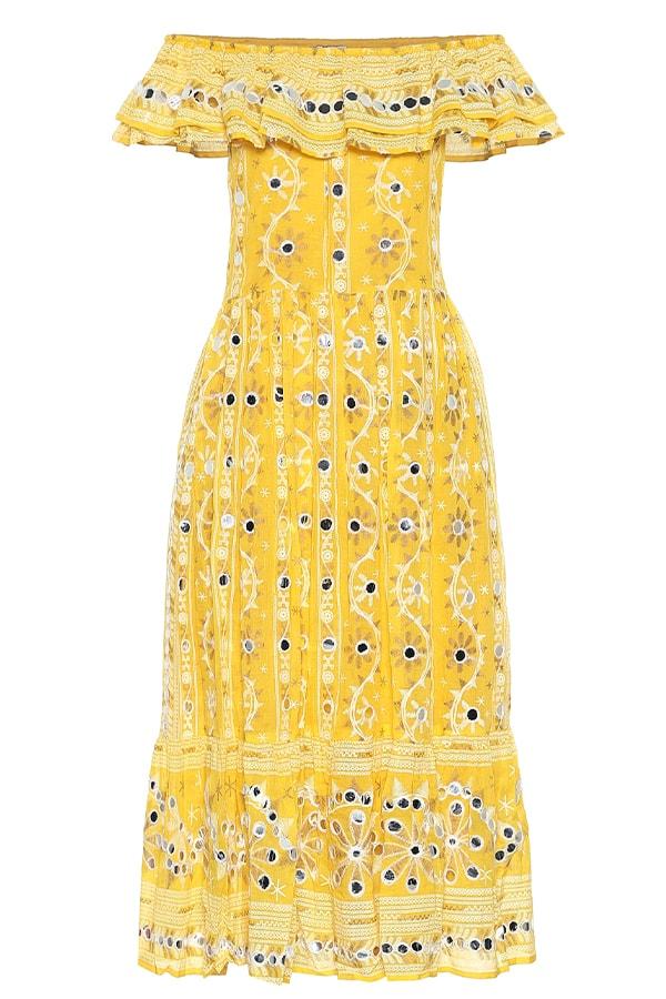 Juliet Dunn yellow dress, as part of The Glossary's best summer dresses edit
