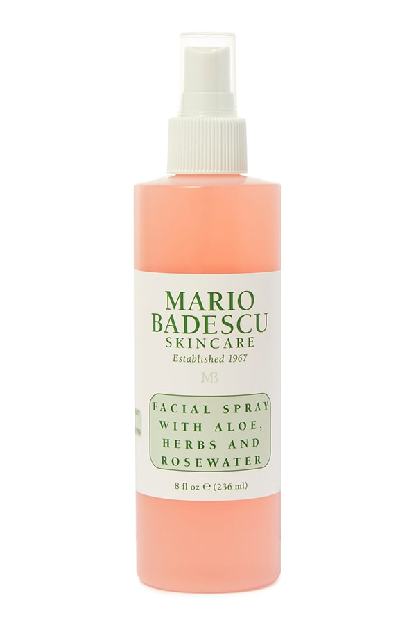 Mario Badescu Facial Spray with Aloe and Rosewater, part of Amy Jackson's beauty regime