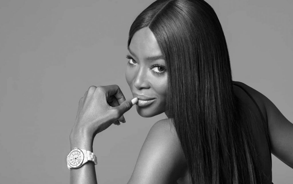 Naomi Campbell is wearing the new J12