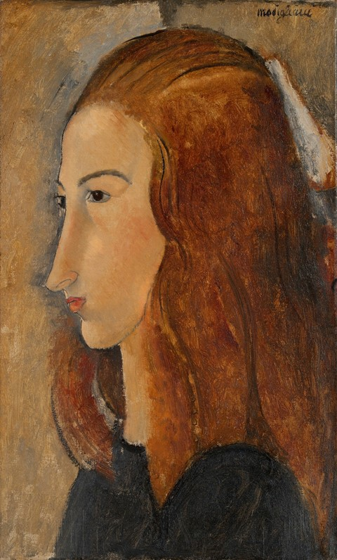 Modigliani, Portrait of a Young Woman, 1918