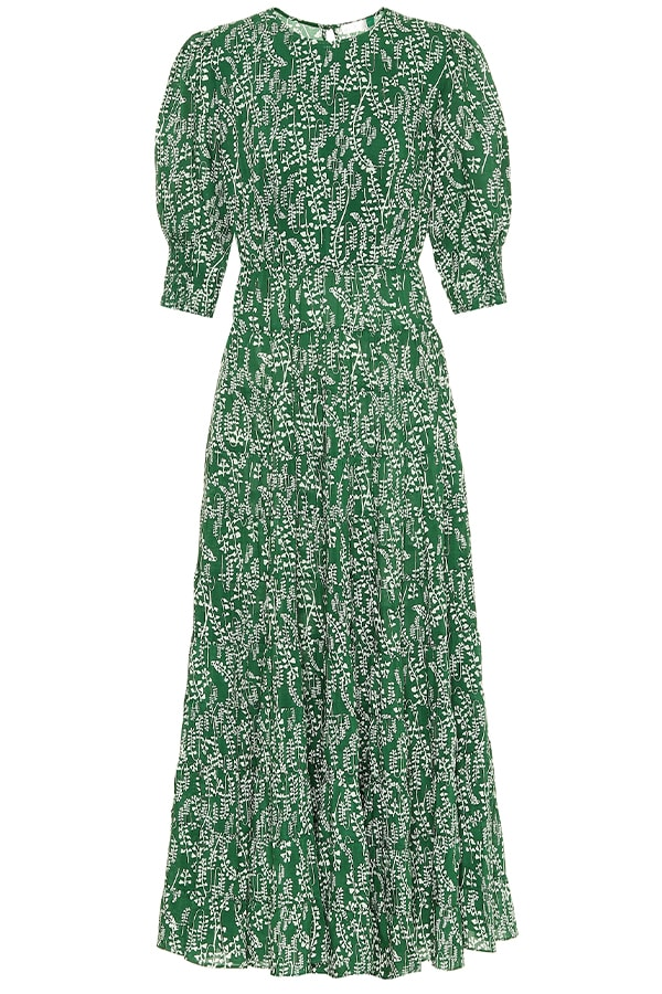 Rixo green dress, as part of The Glossary's best summer dresses edit