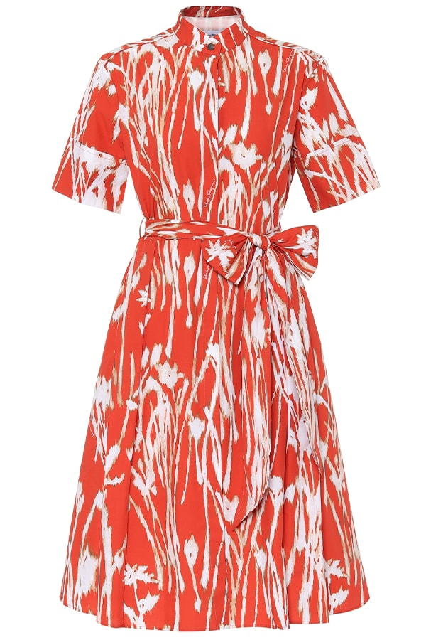 Salvatore red dress, as part of The Glossary's best summer dresses edit