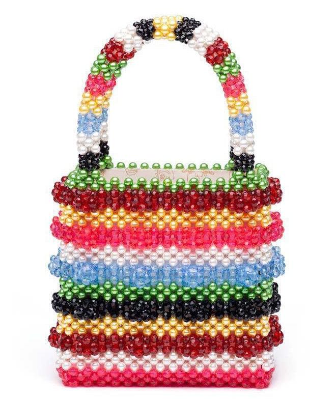 Shrimps rainbow tote bag