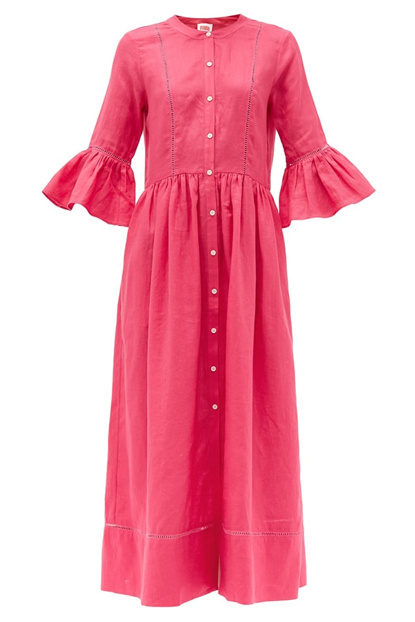 Solid Matches pink dress, as part of The Glossary's best summer dresses edit