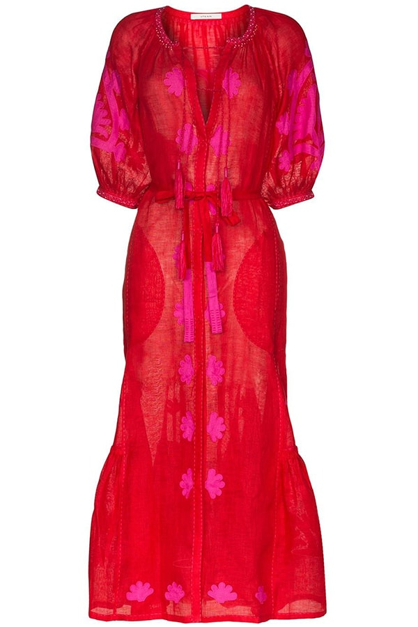 Vita Browns red dress, as part of The Glossary's best summer dresses edit