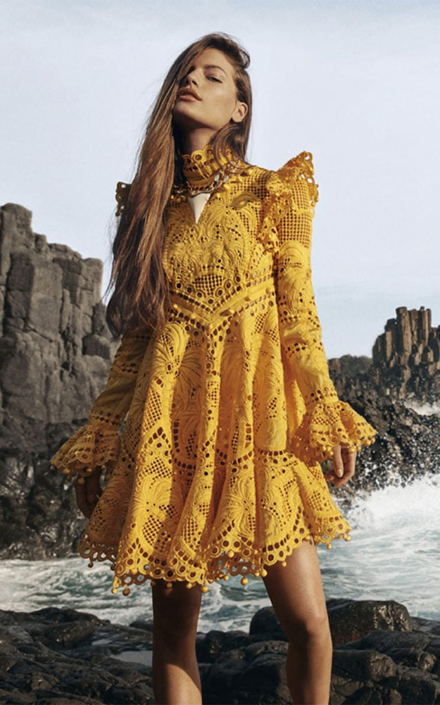 Zimmermann yellow dress, as part of The Glossary's best summer dresses edit