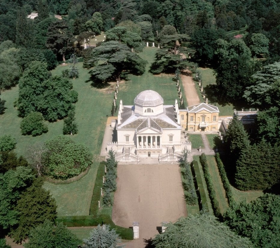 Chiswick House and Gardens, home to one of the best walks in London