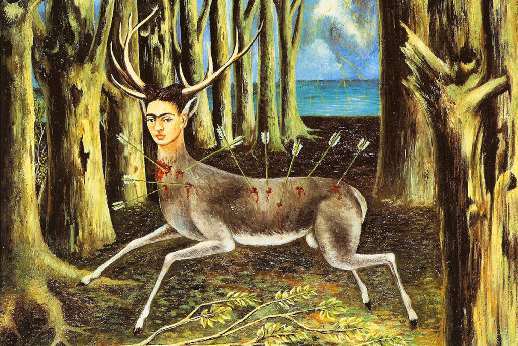 Frida Kahlo, The Wounded Dear, 1946