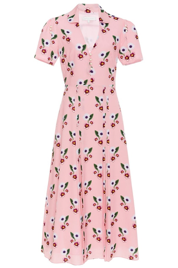 Borgo de Nor pink dress, as part of The Glossary's best summer dresses edit