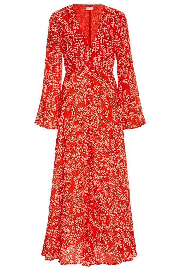 Rixo, Sonja floral print midi dress