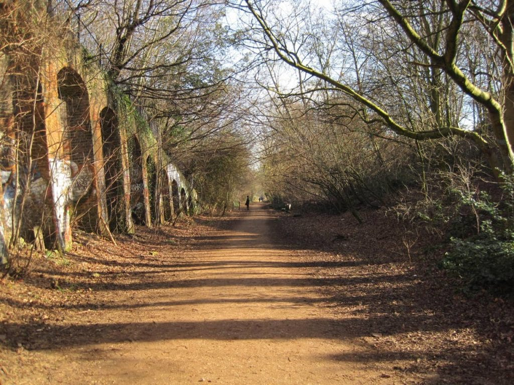 One of the best walks in London can be found on the trail at Parkland Walk