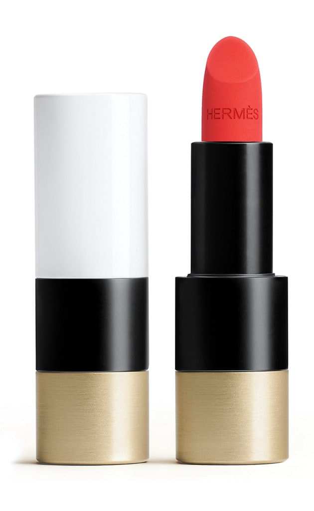 Rouge Hermes, matte-lipstick in Rouge Exotique