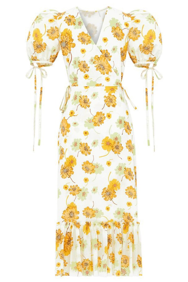 The Dress Edit: The 45 best summer dresses to buy now and wear all season wr a DR361B the honey trap dress cotton tana lawn mcloughland yellow frillseeker c8