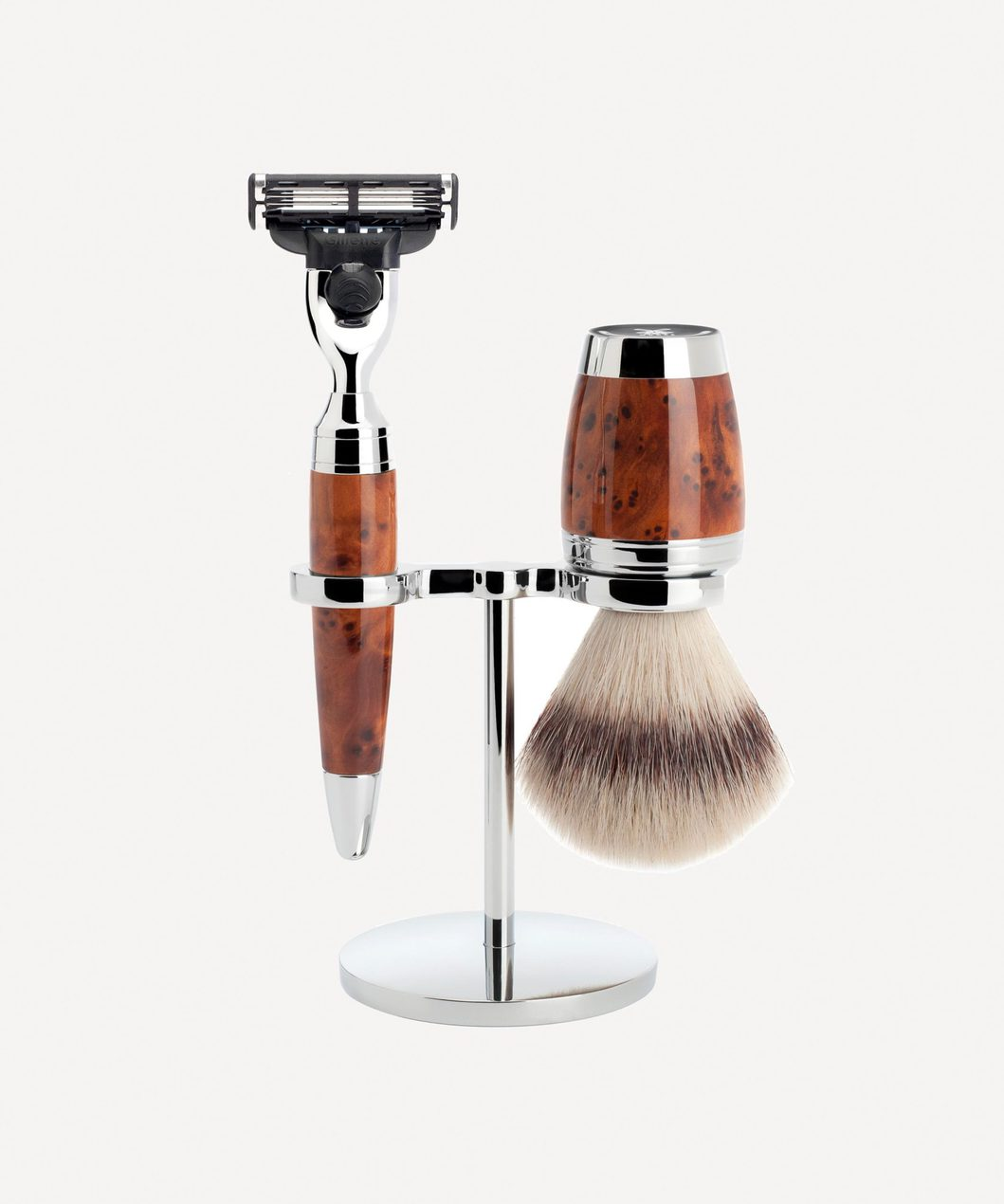 Mule shaving set for mens grooming