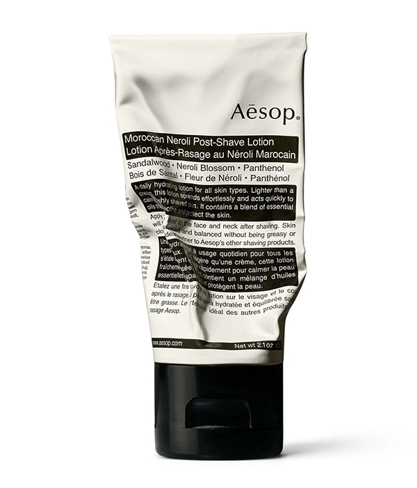 Aesop lotion for mens grooming