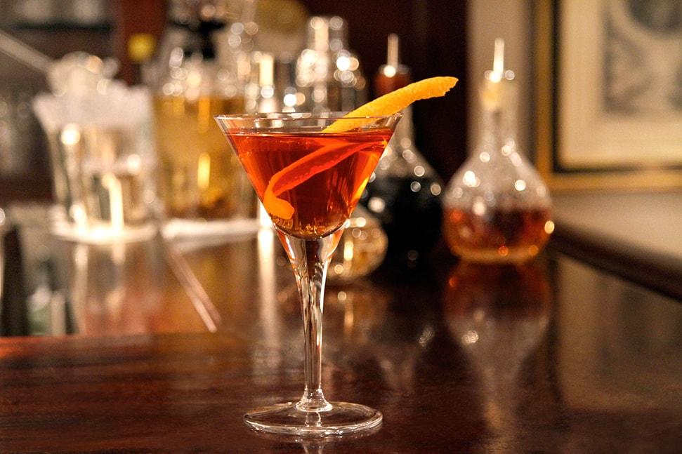 A Vesper Martini at Dukes bar