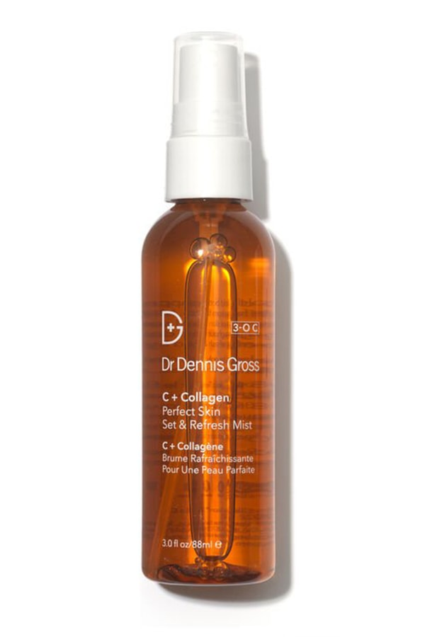 A guide to Vitamin C: The best powerhouse products for brighter skin Dr Dennis Gross C Collagen Perfect Skin Set Refresh Mist