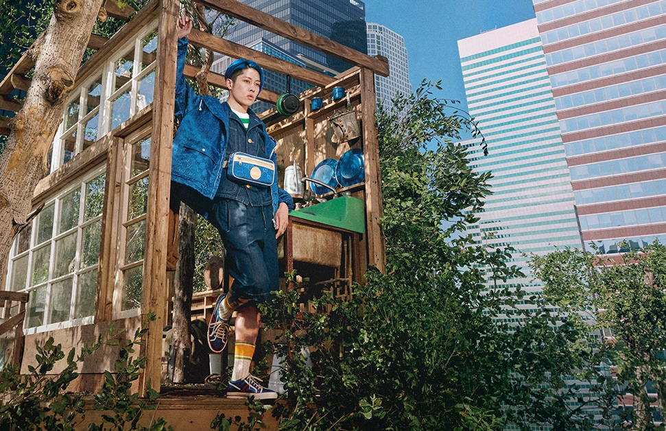 Musician Miyavi stars in the new Gucci Off The Grid collection campaign