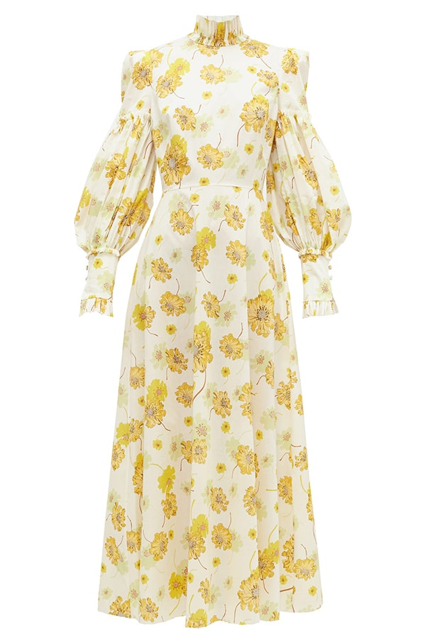 THE VAMPIRES WIFE The Dhalia Liberty print cotton poplin dress