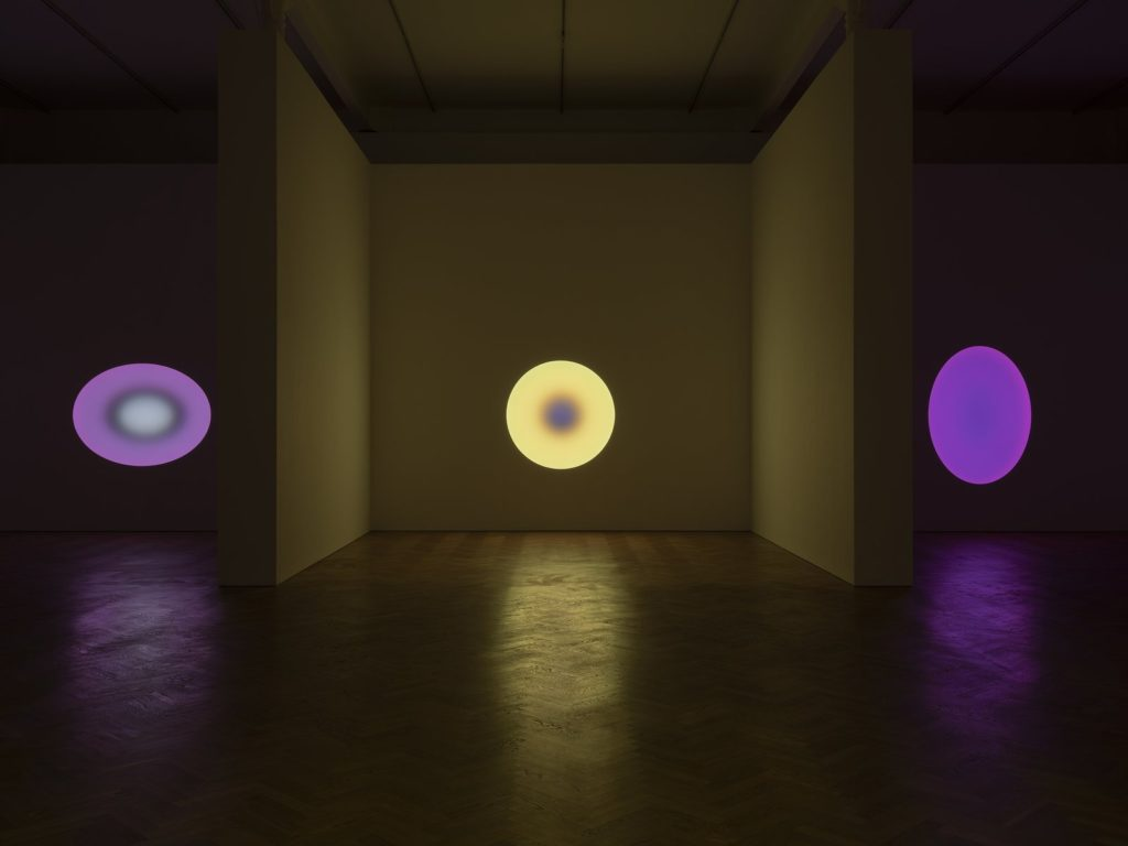 James Turrell's art exhibition at the Pace Gallery