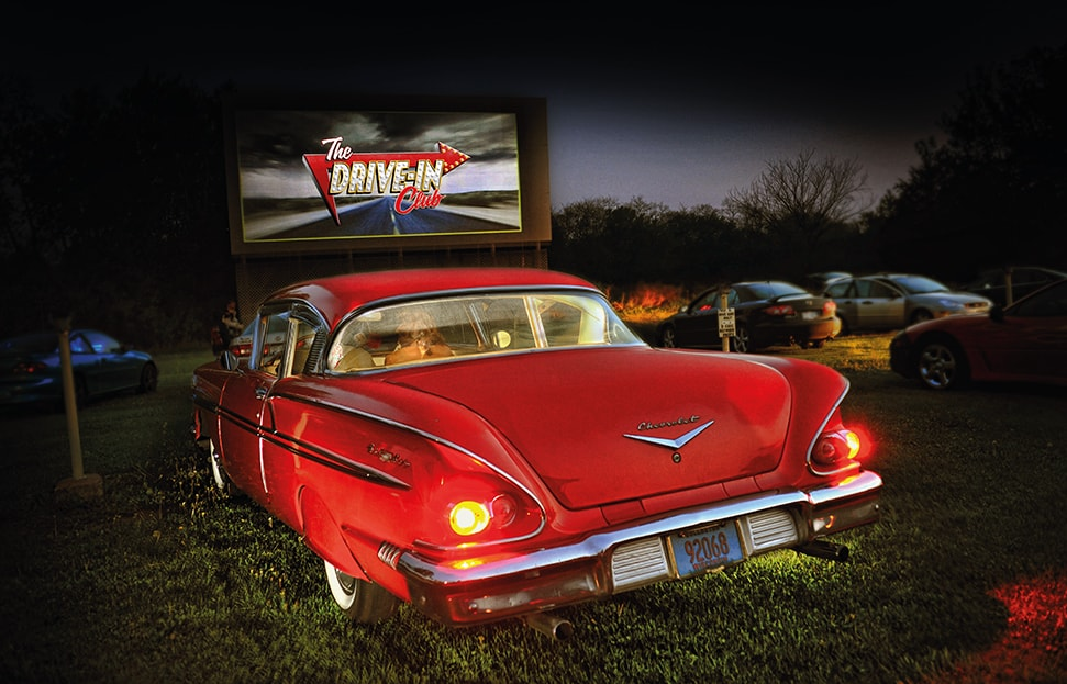 The Drive In Club Movie Theatre