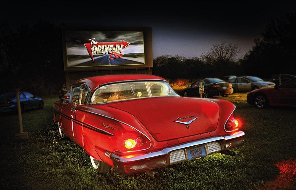 The Drive In Club Movie Theatre