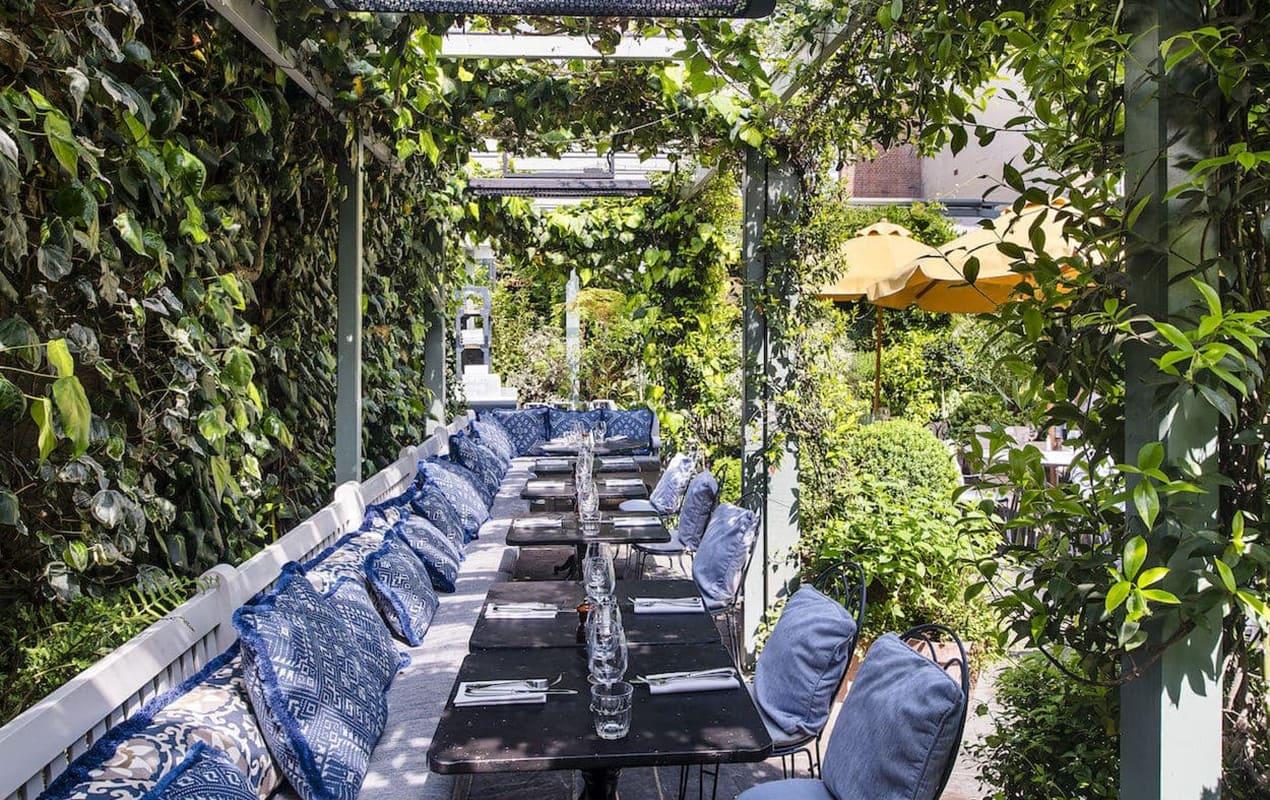 London's five most beautiful outdoor restaurants