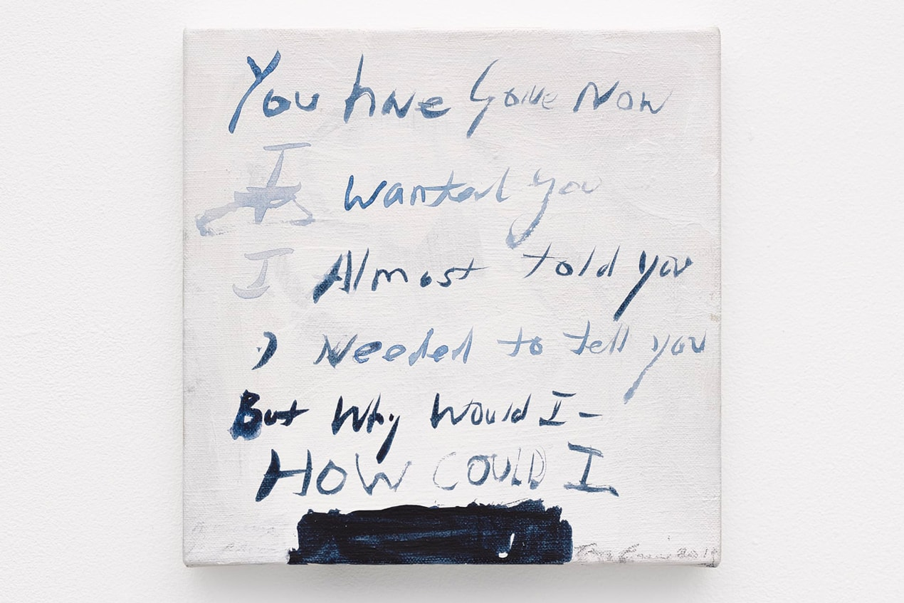 Tracey Emin, A Message From The Gods In Advance, 2019