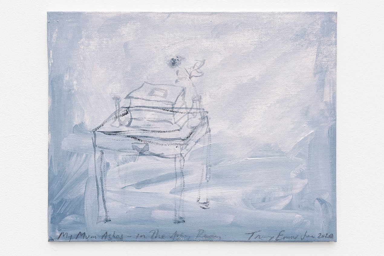 Tracey Emin, My Mums Ashes – In The Ashes Room, 2020