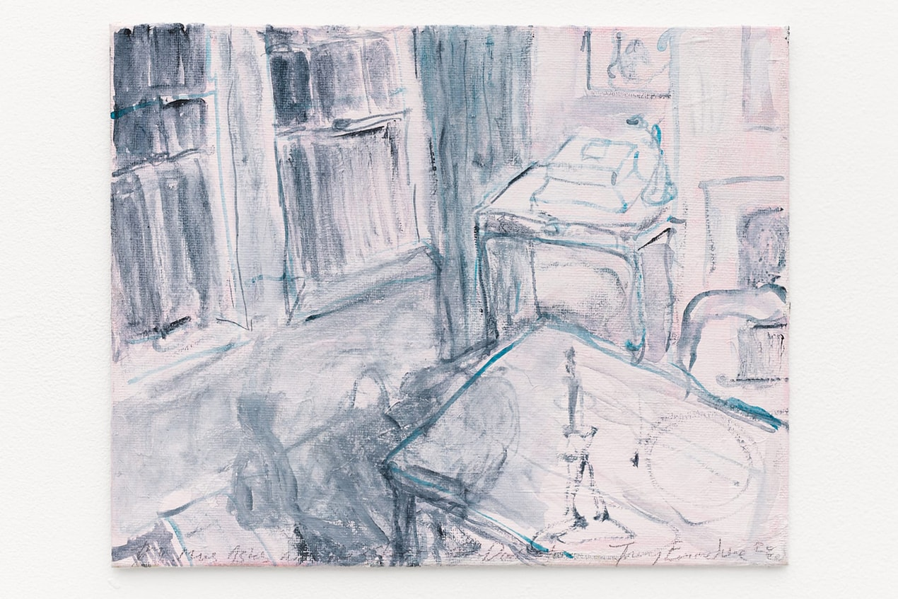 Tracey Emin, My Mums Ashes and The Ghost of Docket, 2020