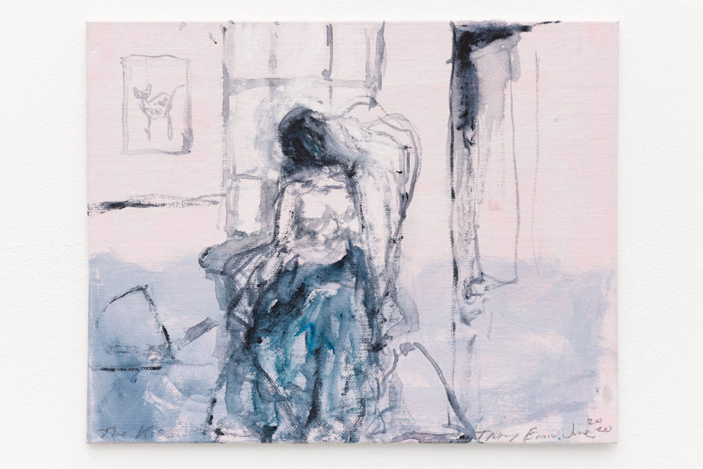 Tracey Emin, The Kiss, 2020