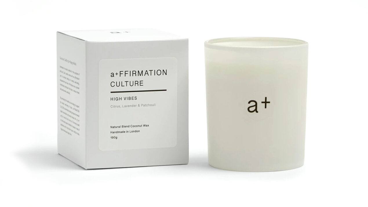 24 cult products created by female-founded black-owned beauty brands Affirmnation High Vibes Candle