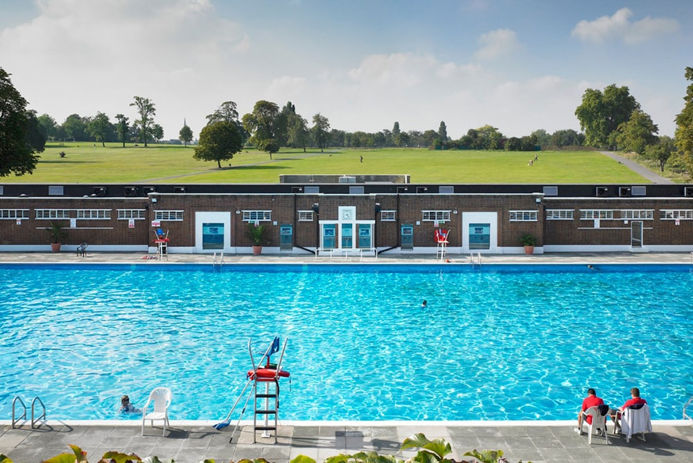 Brockwell Lido, one of the best outdoor swimming pools in London