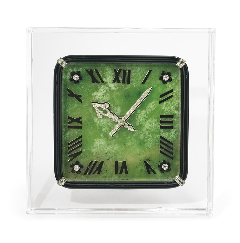 101 dazzling Art Deco Cartier clocks owned by the cream of society are up for auction