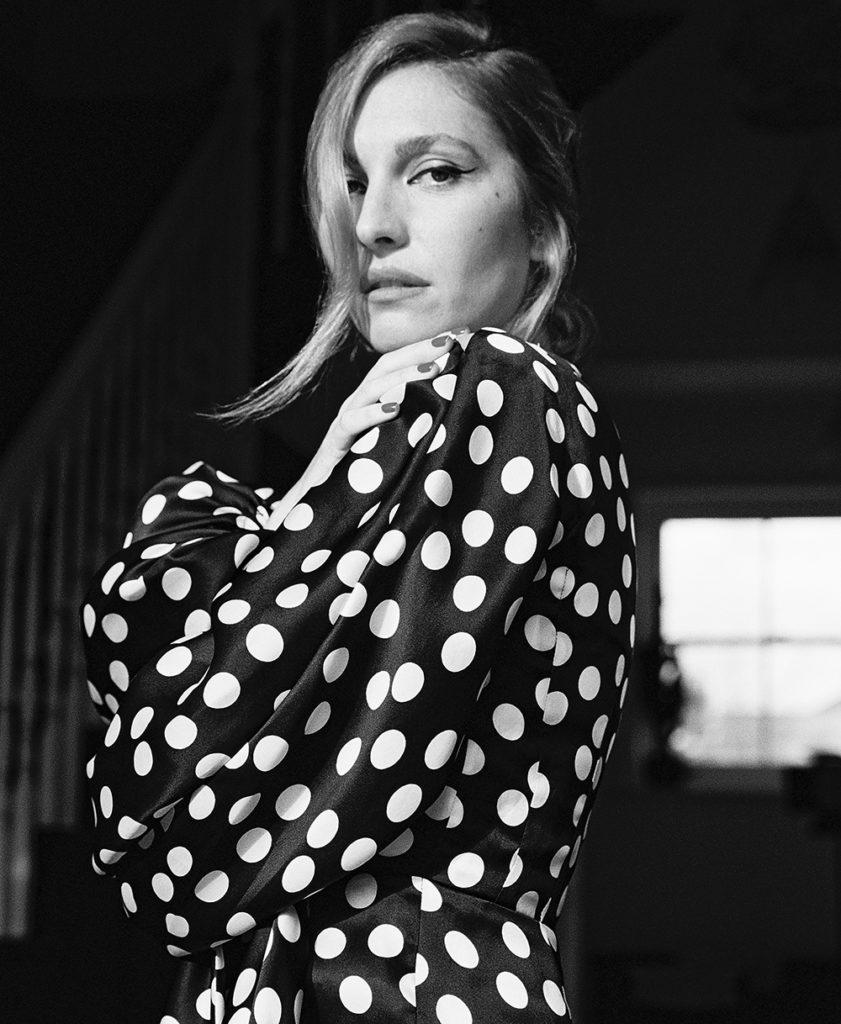 Josephine de La Baume photographed by Benjamin Mallek