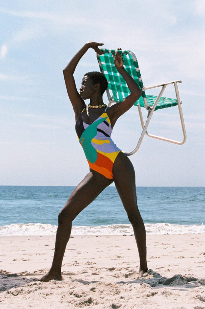 The 11 most covetable and sustainable swimwear brands to know Mara Hoffman Pre Fall 21
