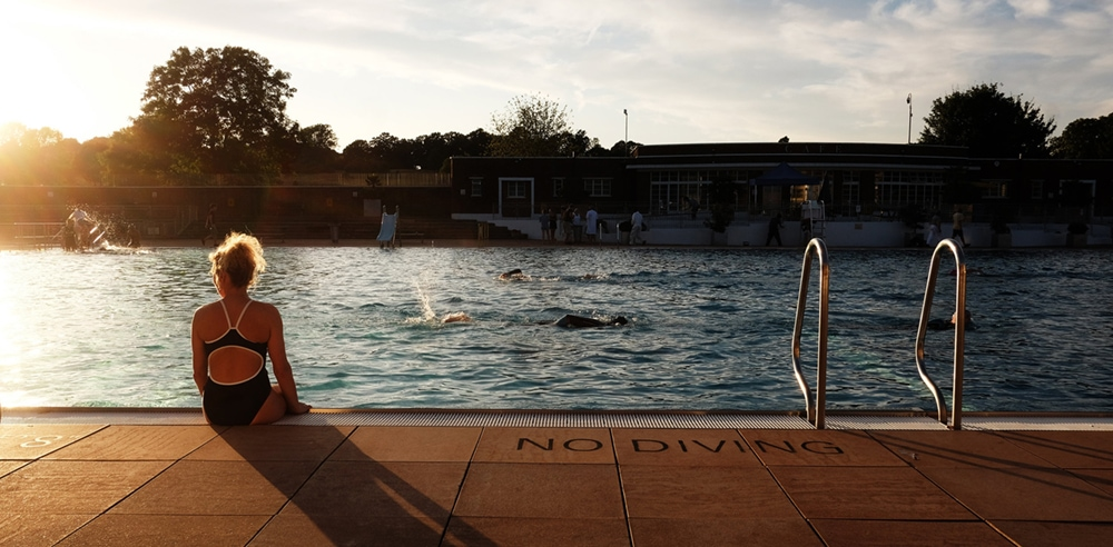 Parliament Hill Lido, one of the best outdoor swimming pools in London