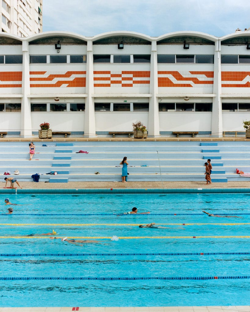 Immerse yourself in this photography book that captures the pure joy of the swimming pool