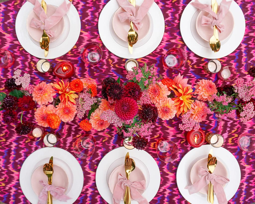 Entertaining expert Rosanna Falconer on how to host the perfect socially distanced dinner party
