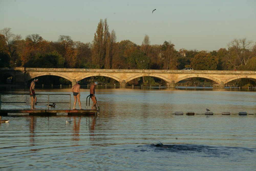 Serpentine Lido, one of the best outdoor swimming pools in London