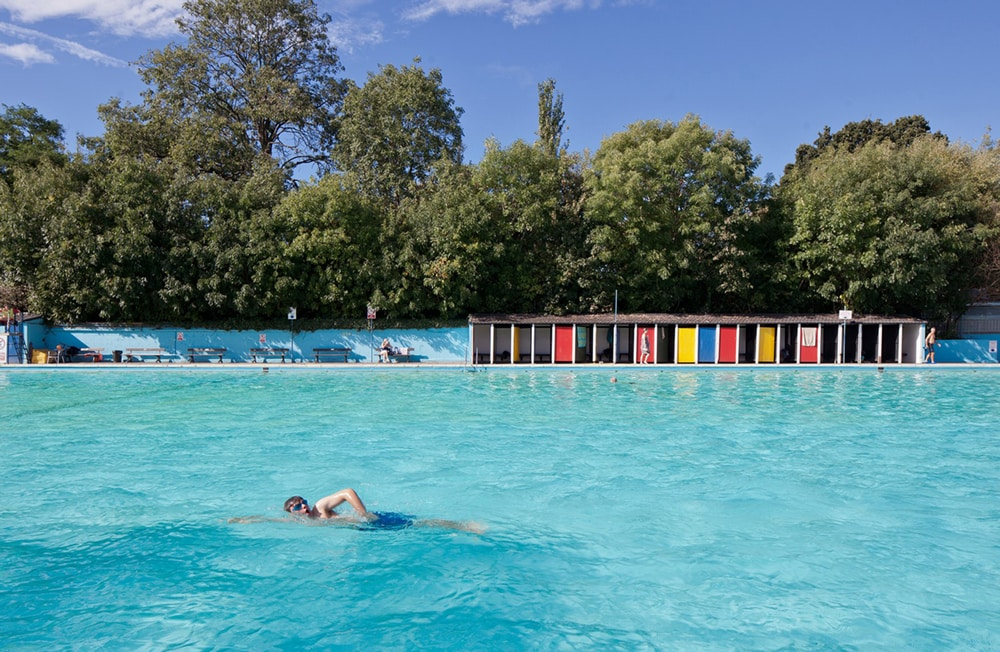 Tooting Bec Lido, one of the best outdoor swimming pools in London