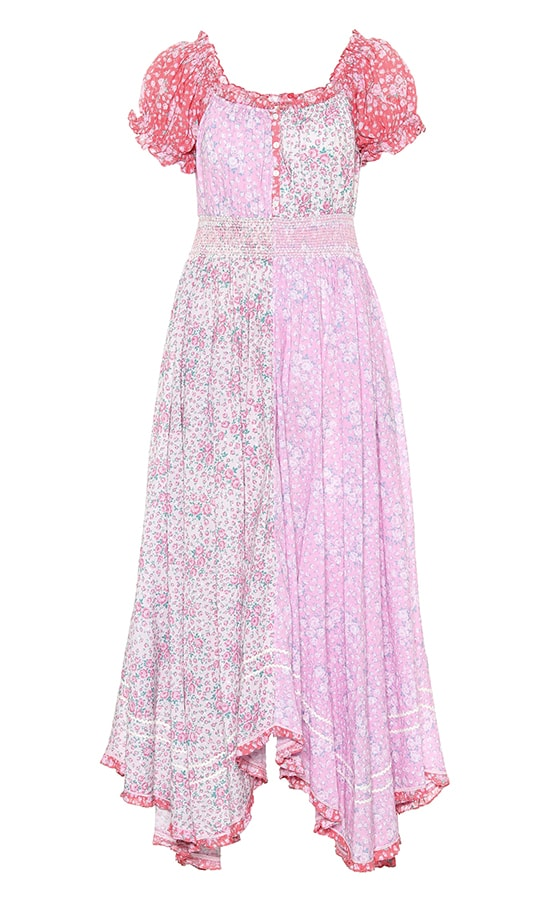 LOVESHACKFANCY Ren floral cotton midi dress £ 370 MT