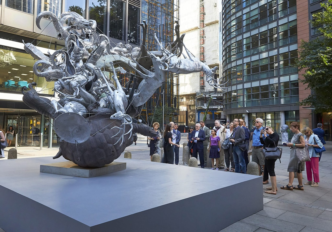 The finest outdoor art and sculptures to visit in the capital right now