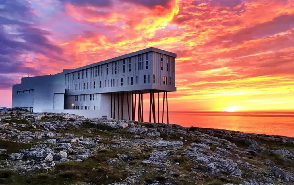 Behind Kelly Hoppen's modern reimagining of the LUX* Grand Gaube resort in Mauritius Fogo Island Inn e1600351976986